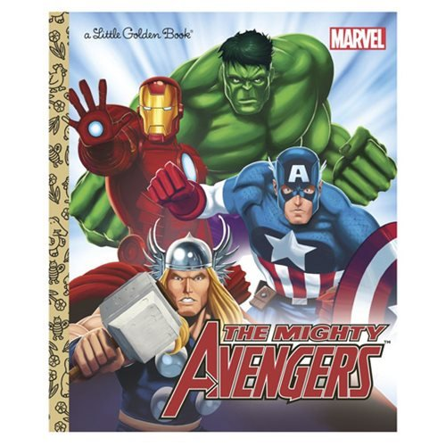 Marvel The Avengers The Mighty Avengers Little Golden Book