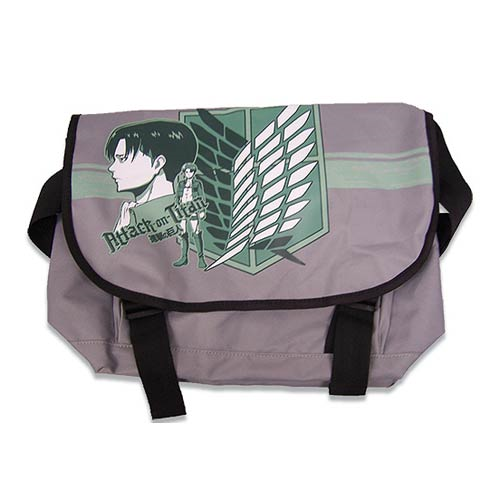 Attack on Titan Levi Gray Messenger Bag