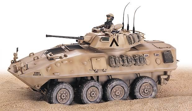 Charming 1:18 USMC Light Armored Vehicle Nice Look