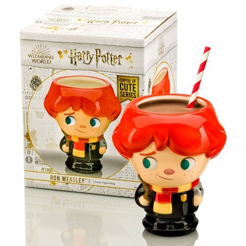 Harry Potter Ron Weasley 16 oz. Cupful of Cute Ceramic Mug
