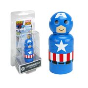 Captain America Pin Mate Wooden Figure