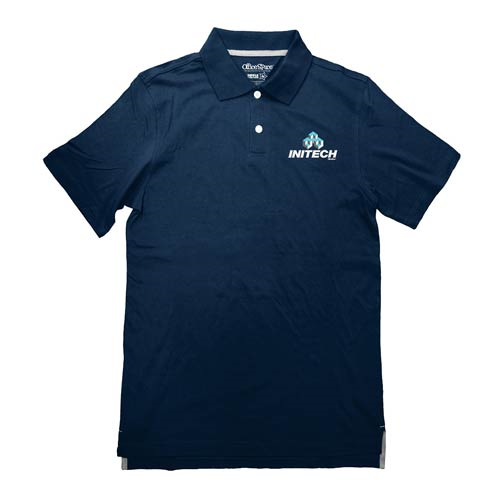 Office Space Initech Company Logo Polo T-Shirt