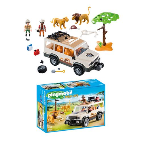 Playmobil 6798 Safari Truck with Lions