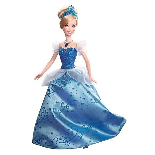 Disney Princess Swirling Lights Cinderella Doll