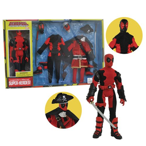 Marvel Deadpool Version 2 8-Inch Retro Action Figure Set