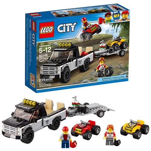 LEGO City Great Vehicles 60148 ATV Race Team