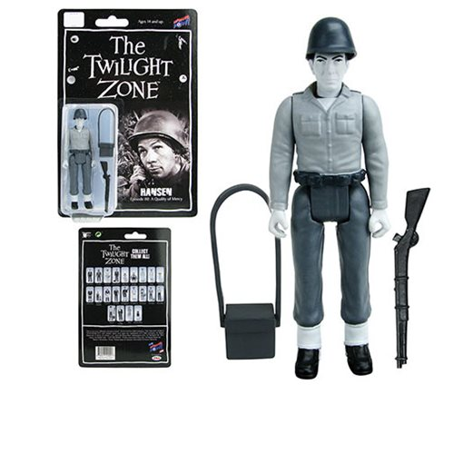 The Twilight Zone A Quality of Mercy Hansen 3 3/4-Inch Action Figure Series 4