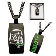 Star Wars Rogue One Death Trooper Black Necklace
