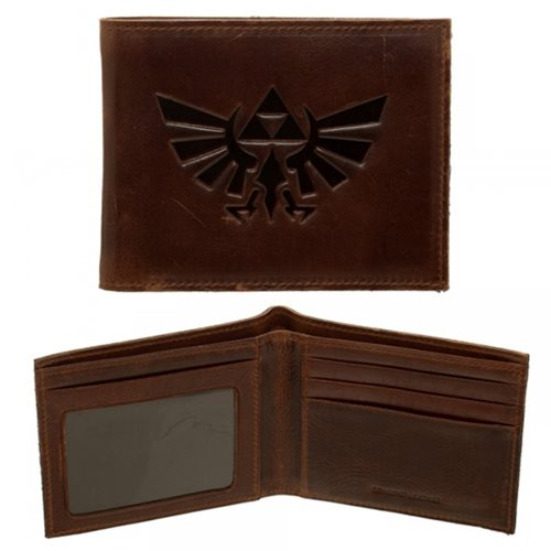 Legend of Zelda Leather Bi-Fold Wallet