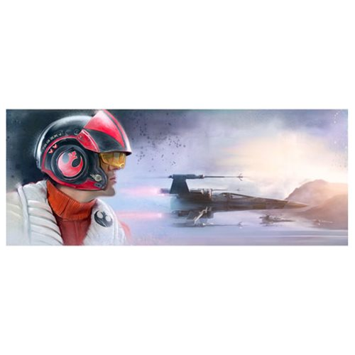 Star Wars: The Force Awakens The Pilot by Brian Rood Canvas Giclee Art Print
