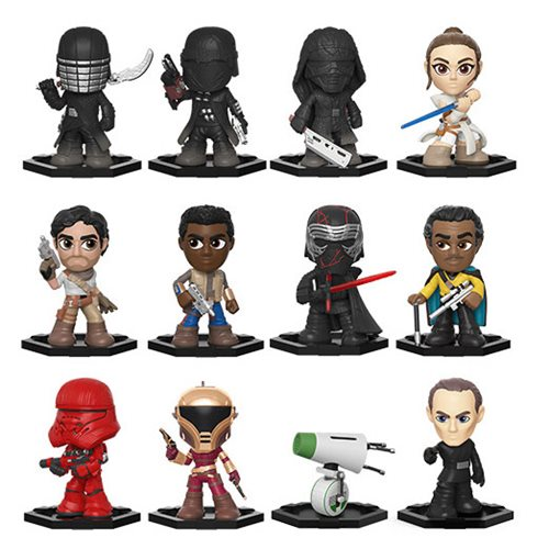 Star Wars: The Rise of Skywalker Mystery Minis Random 4-Pack