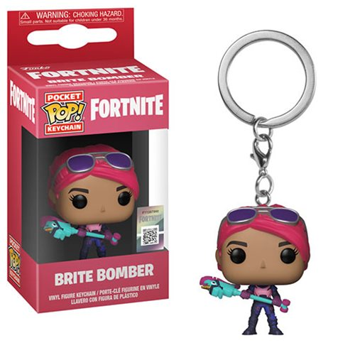 Fortnite Brite Bomber Pocket Pop! Key Chain