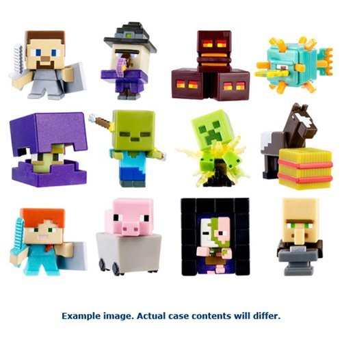 Minecraft Collectible Figures Wave 7 Singles 6-Pack