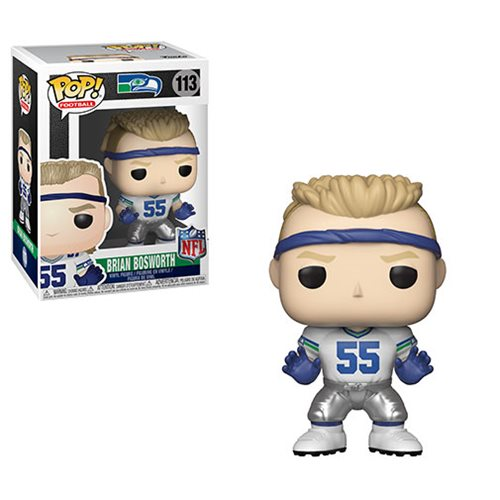NFL Legends Brian Bosworth Pop! Vinyl Figure #113, Not Mint