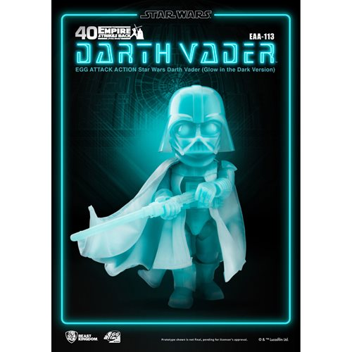 Star Wars Darth Vader Glow-in-the-Dark EAA-113 Action Figure