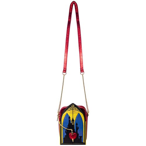 Snow White Evil Queen Triptych Crossbody Purse