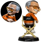 Stan Lee Orange Sweater MiniCo. Vinyl Statue - Previews Exclusive