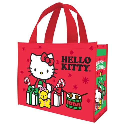 Hello Kitty Happy Holidays Christmas Large Shopper Tote