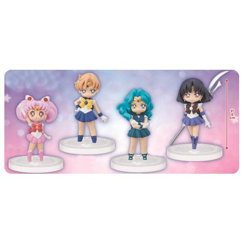 Sailor Moon 20th Anniversary Girls Memories Mini-Figure Set