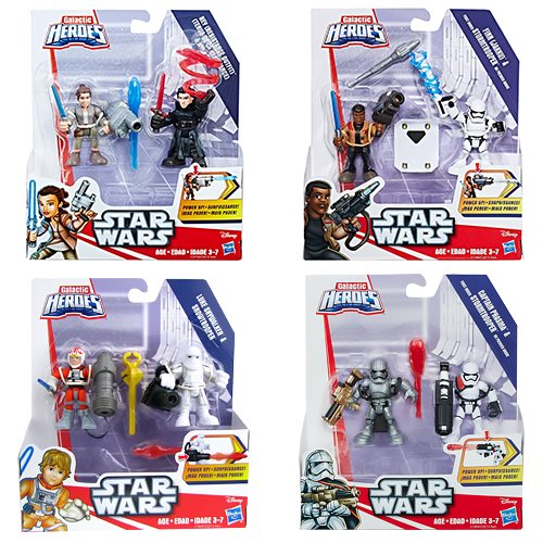 Star Wars Galactic Heroes Power Up Figures Wave 2 Case