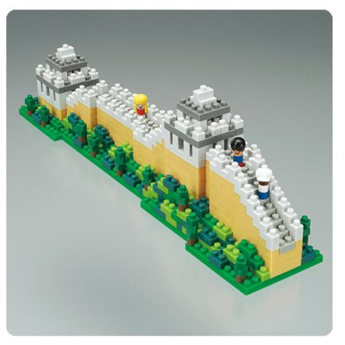 Great Wall of China Nanoblock Figure