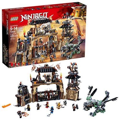 5d8a0ff774d LEGO Ninjago 70655 Dragon Pit - Entertainment Earth