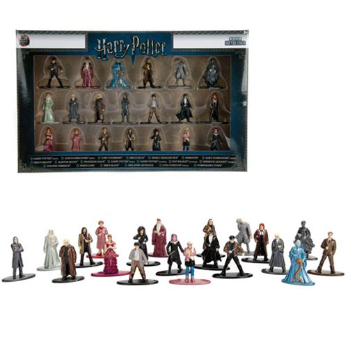 Harry Potter Nano Metalfigs Die-Cast Metal Mini-Figures Wave 2 20-Pack