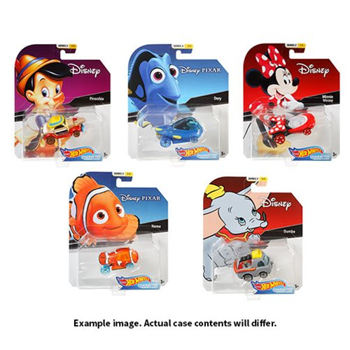 Disney Hot Wheels Character Cars 2019 Mix 4 Case
