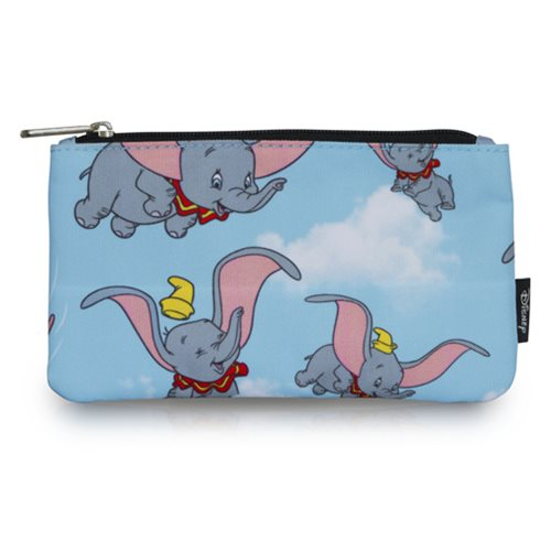 Dumbo Flying Print Travel Cosmetic Bag