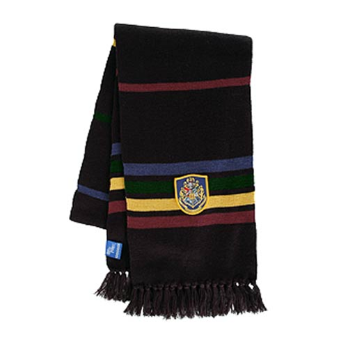 Harry Potter Black Hogwarts Scarf