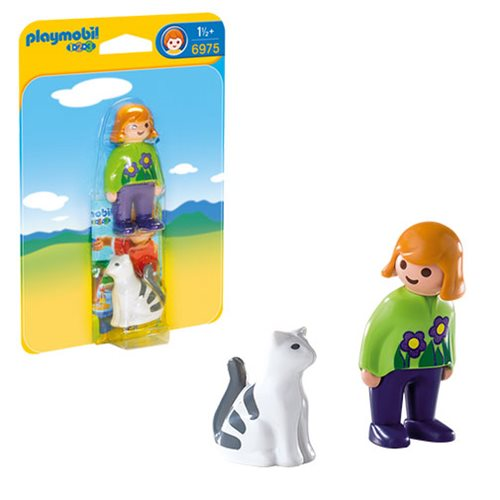 Playmobil 6975 Woman with Cat