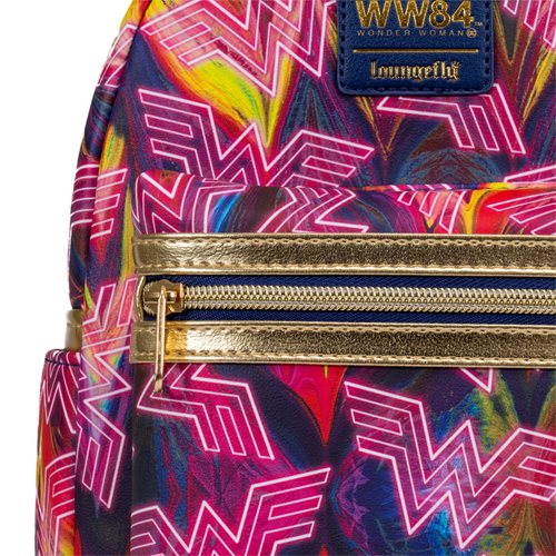 Wonder Woman 1984 WW84 Mini-Backpack - Entertainment Earth Exclusive