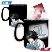 Death Note Kira and L Heat Change Mug
