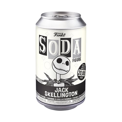 The Nightmare Before Christmas Jack Skellington Vinyl Soda Figure
