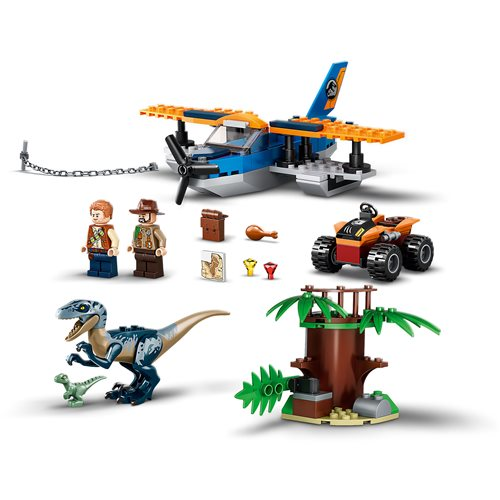 LEGO 75942 Jurassic World Velociraptor: Biplane Rescue Mission​