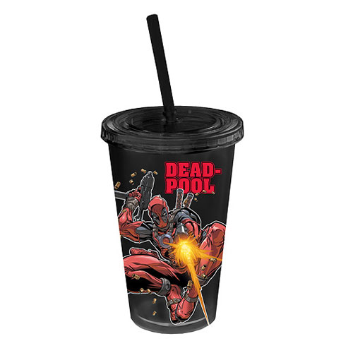 Deadpool Action Plastic Travel Cup