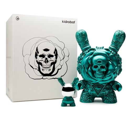 Arcane Divination The Clairvoyant 8-Inch Dunny Teal Colorway Vinyl Figure
