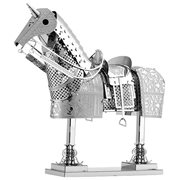 Horse Armor Metal Eath Model Kit
