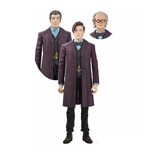 Doctor Who Time of the Doctor Action Figure Set