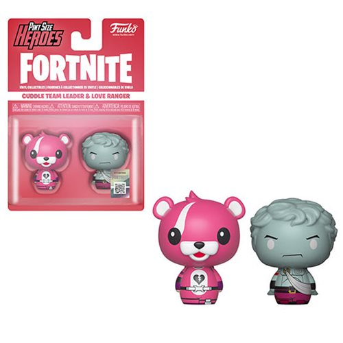 Fortnite Cuddle Team Leader and Love Ranger Pint Size Heroes Mini-Figure 2-Pack