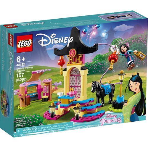 LEGO 43182 Disney Princess Mulan's Training Grounds