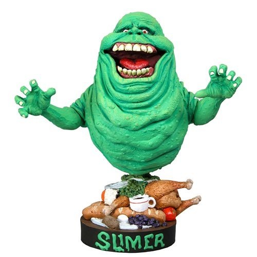 Ghostbusters Slimer Head Knocker Bobble Head