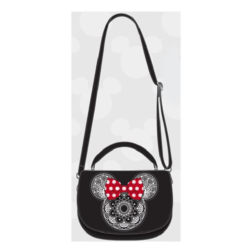 Minnie Mouse Mandala Crossbody Purse