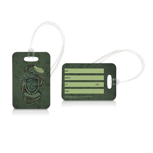 Harry Potter Slytherin Luggage Tag