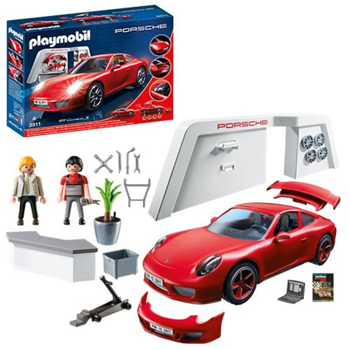 playmobil 3911 porsche 911 carrera s car entertainment earth. Black Bedroom Furniture Sets. Home Design Ideas