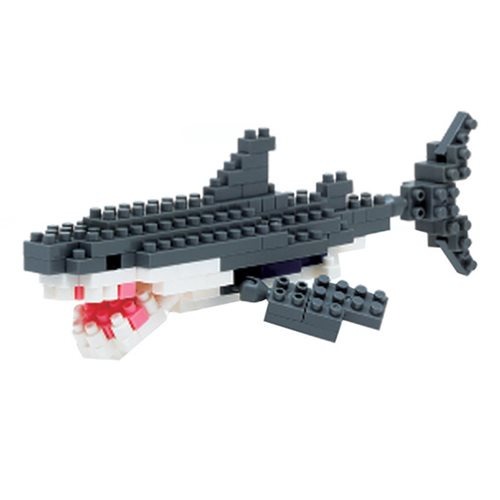 Great White Shark Nanoblock Constructible Figure