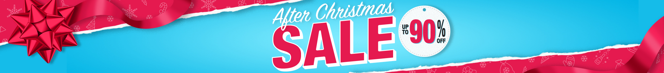 After Christmas Sale 2019 Up to 90% Off!