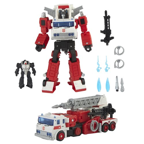 Transformers Generations Selects Artfire and Nightstick