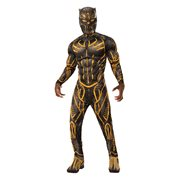 Black Panther Erik Kilmonger Deluxe Battle Suit Costume
