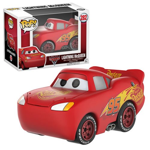 Cars 3 Lightning McQueen Pop! Vinyl Figure